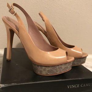 Vince Camuto VC-Leala Petal Slingback Stilettos
